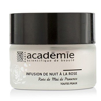 Academie Aromatherapie Night Infusion Crema de Rosa (Sin Caja)  30ml/1oz