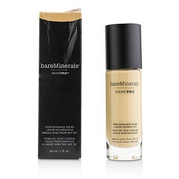 BareMinerals BarePro Performance Wear Liquid Foundation SPF20 - # 15 Sandalwood (Box Slightly Damaged)  30ml/1oz