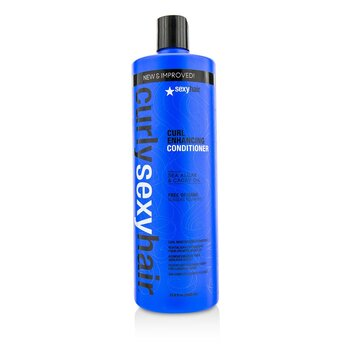 Sexy Hair Concepts Curly Sexy Hair Acondicionador Impulsador de Rizos  1000ml/33.8oz