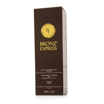 Bronz' Express Face Tinted Self-Tanning Gel  75ml/2.5oz