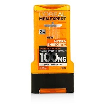 Men Expert Shower Gel - Hydra Energetic (For Body, Face & Hair) 300ml/10.1oz