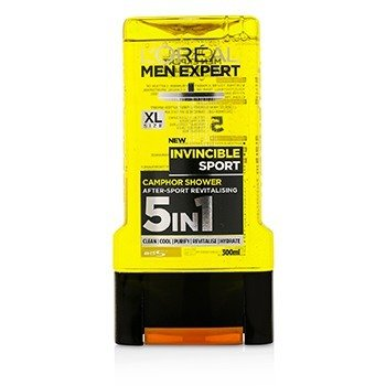Men Expert Shower Gel - Invincible Sport (For Body, Face & Hair)  300ml/10.1oz