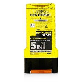 L'Oreal Men Expert Shower Gel - Total Clean (For Body, Face, Hair, Shaving & Moisturizing)  300ml/10.1oz
