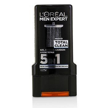 Men Expert Shower Gel - Total Clean (For Body, Face & Hair)  300ml/10.1oz