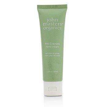 John Masters Organics Lime & Spruce Crema de Manos  54ml/1.9oz
