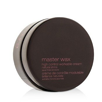 Master Wax High Control Workable Cream (Extreme Hold, High Shine Finish)  75g/2.6oz