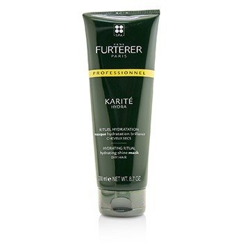 Karite Hydra Hydrating Ritual Hydrating Shine Mask - Dry Hair (Salon Product)  250ml/8.7oz