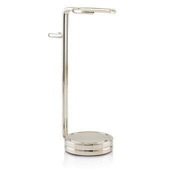 Compact Shaving Stand - Nickel (For Brush & Razor)  1pc