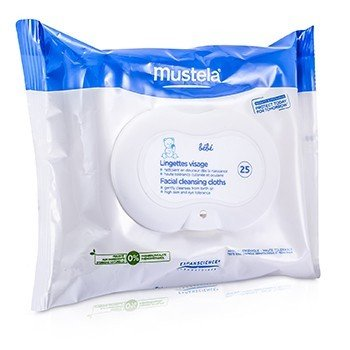 Mustela Facial Cleansing Cloths (Exp. Date 07/2018)  25cloths