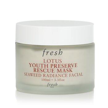 フレッシュ Lotus Youth Preserve Rescue Mask  100ml/3.3oz