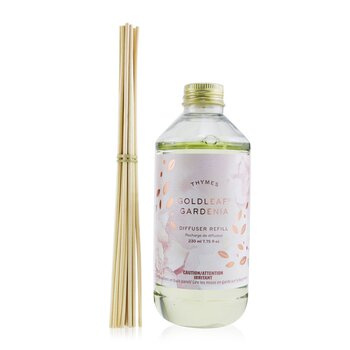 Thymes Aromatic Diffuser - Goldleaf Gardenia  230ml/7.75oz