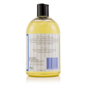 Body Wash - Lavender Essential Oil  480ml/16.2oz