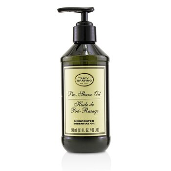 Olejek przed goleniem Pre-Shave Oil - Unscented (With Pump)  240ml/8.1oz
