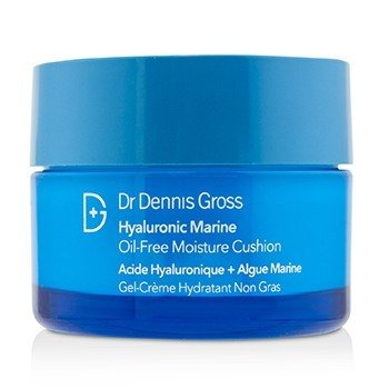 Dr Dennis Gross Hyaluronic Marine Oil-Free Moisture Cushion 50ml/1.7oz Red Light LED Light Therapy Collagen Boost Skin Firming Lifting Light Control Sensor Facial Beauty Device