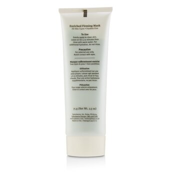 Enriched Firming Mask (Hydrate+Calm) - For All Skin Types  75g/2.5oz