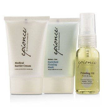 Essential Recovery Kit: Priming Oil 25ml + Enriched Firming Mask 30g + Medical Barrier Cream 30g  3pcs