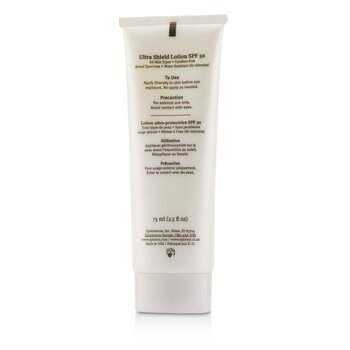 Ultra Shield Lotion SPF 50 - For All Skin Types  75ml/2.5oz