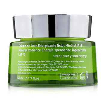 Mineral Radiance Energizing Day Cream SPF 15  50ml/1.7oz