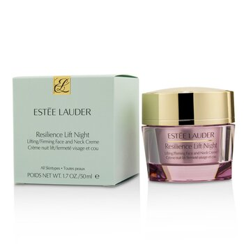 Resilience Lift Night Lifting/ Firming Face & Neck Creme - For All Skin Types  50ml/1.7oz