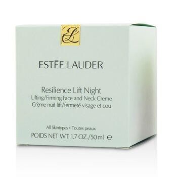 Ujędrniający krem do twarzy i szyi Resilience Lift Night Lifting/ Firming Face & Neck Creme - For All Skin Types  50ml/1.7oz