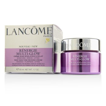 Lancome Renergie Multi-Glow Rosy Skin Tone Reviving Cream  50ml/1.7oz Esthederm - Intensif Vitamine A Concentrated Formula Oil Serum - 50ml/1.7oz