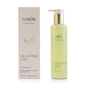 CLEANSING Gel & Tonic 2 In 1  200ml/6.75oz