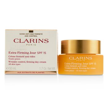 Extra-Firming Jour Wrinkle Control, Firming Day Cream SPF 15 - All Skin Types  50ml/1.7oz