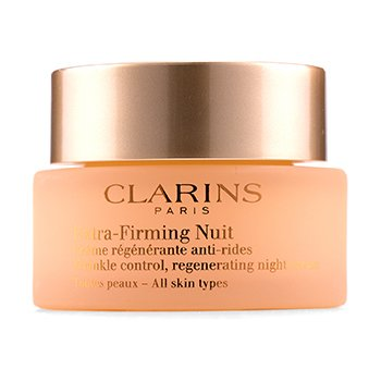 Extra-Firming Nuit Wrinkle Control, Regenerating Night Cream - All Skin Types  50ml/1.6oz