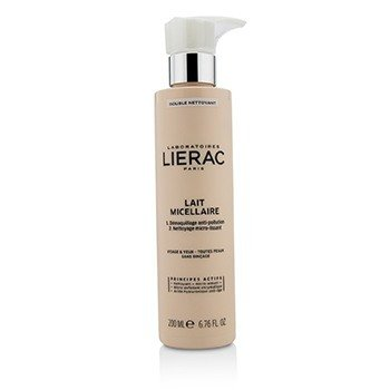 Lierac Double Nettoyant Lait Micellaire Micellar Milk Double Cleanser  200ml/6.76oz
