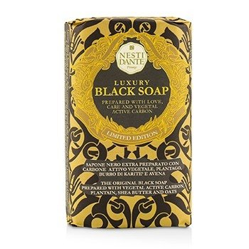 Luxury Black Soap With Vegetal Active Carbon (Limited Edition)  250g/8.8oz