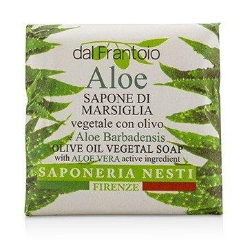 Dal Frantoio Olive Oil Vegetal Soap - Aloe Vera 100g/3.5oz
