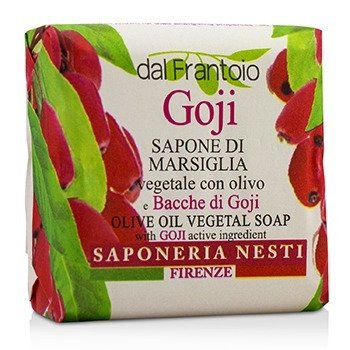Dal Frantoio Olive Oil Vegetal Soap - Goji  100g/3.5oz
