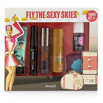Fly The Sexy Skies Travel Set  6pcs