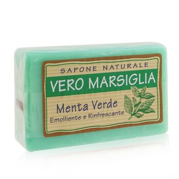 Vero Marsiglia Natural Soap - Spearmint (Emollient & Refreshing) 150g/5.29oz