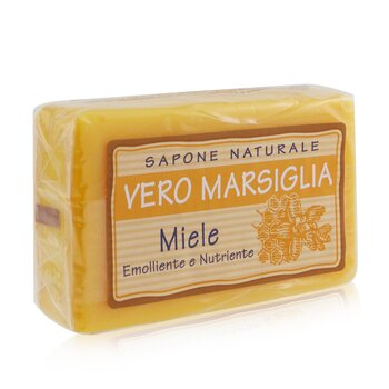 Vero Marsiglia Natural Soap - Honey (Emollient & Nourishing)  150g/5.29oz