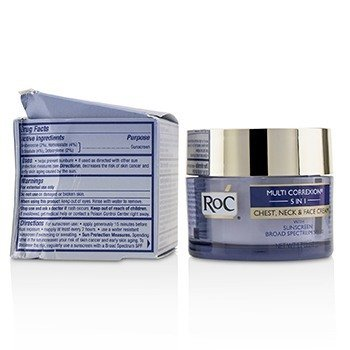 Multi Correxion 5 in 1 Chest, Neck & Face Cream With Sunscreen Broad Spectrum SPF30 (Box Slightly Damaged) 50ml/1.7oz