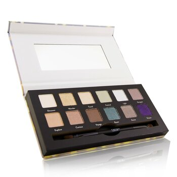 Wanderlust Eye Shadow Palette (12x Eye Shadow, 1x Shadow Brush)  12x0.8g/0.03oz
