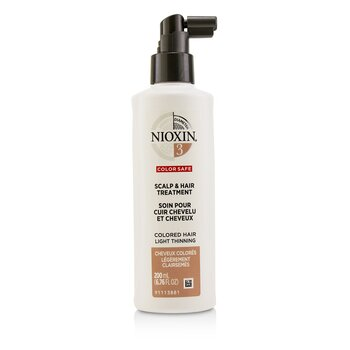 Nioxin Diameter System 3 Scalp & Hair Treatment (Colored Hair, Light Thinning, Color Safe)  200ml/6.76oz