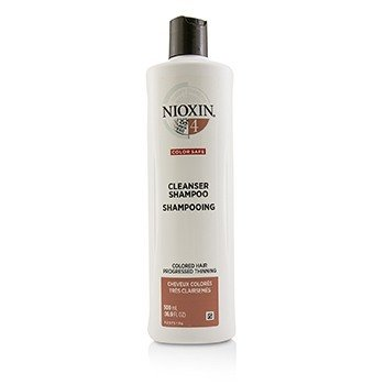 Derma Purifying System 4 Cleanser Shampoo (Colored Hair, Progressed Thinning, Color Safe)  500ml/16.9oz