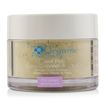 Flower Petal Deep Cleanser & Mask - For Radiant Glowing Skin  60g/2.14oz