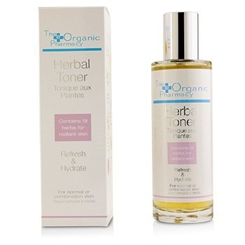 Herbal Toner - For Normal & Combination Skin  100ml/3.4oz