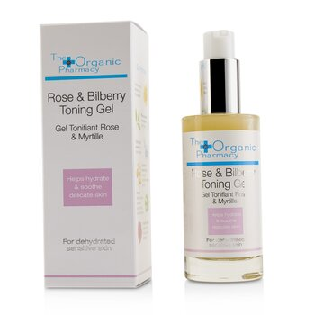 Rose & Bilberry Toning Gel - For Dehydrated Sensitive Skin  50ml/1.7oz