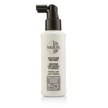 Diameter System 1 Scalp & Hair Treatment (Natural Hair, Light Thinning)  100ml/3.38oz