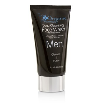 Men Deep Cleansing Face Wash - Cleanse & Purify  75ml/2.5oz
