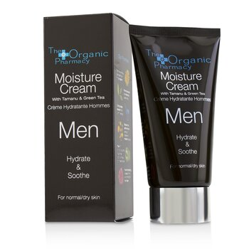Men Moisture Cream - Hydrate & Soothe - For Normal & Dry Skin  75ml/2.5oz