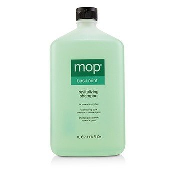 MOP Basil Mint Revitalizing Shampoo (For Normal to Oily Hair)  1000ml/33.8oz