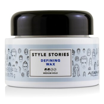 Style Stories Defining Wax (Medium Hold)  75ml/2.64oz