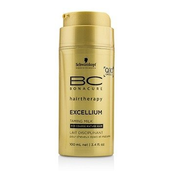BC Excellium Q10+ Omega 3 Taming Milk (For Coarse Mature Hair)  100ml/3.4oz