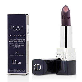 Rouge Dior Double Rouge Matte Metal Colour & Couture Contour Lipstick  3.5g/0.12oz