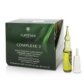 Complexe 5 Essential Scalp Ritual Stimulating Plant Extract with Essential Oils  24x5ml/0.16oz